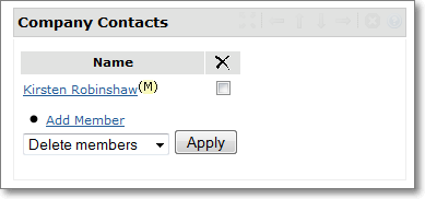 Company Contacts